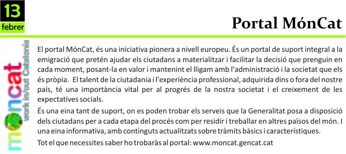 Portal moncat